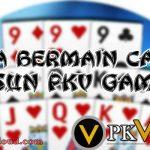 Cara Bermain Capsa Susun Pkv Games